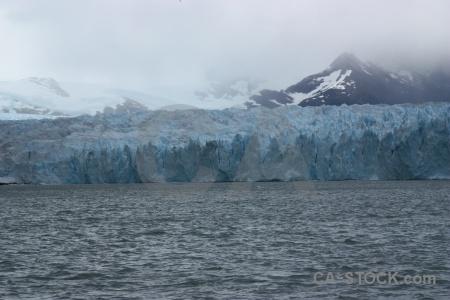 Lake perito moreno glacier water cloud.