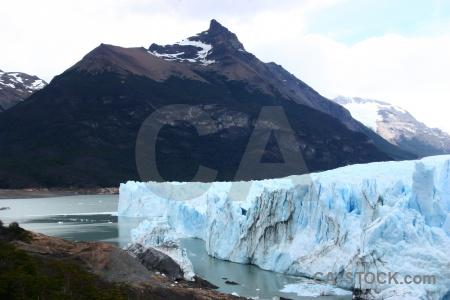 Lake sky perito moreno argentina patagonia.