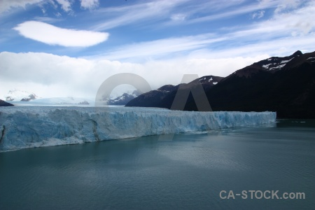 Lake south america water perito moreno patagonia.