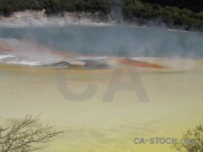 Lake volcanic water.
