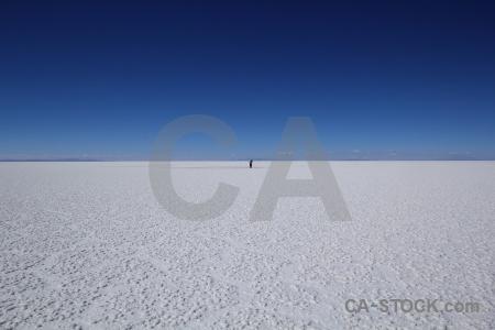 Landscape andes bolivia salt flat salar de uyuni.