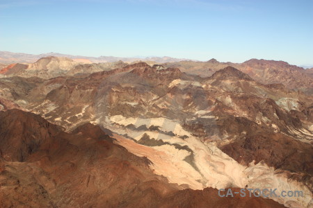 Landscape brown rock mountain desert.