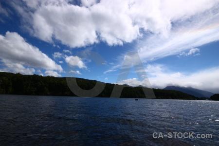 Landscape cloud tree mountain sky.