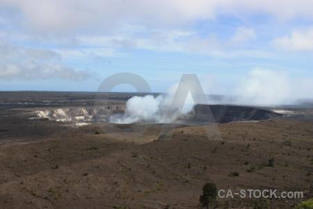 Landscape crater volcanic.