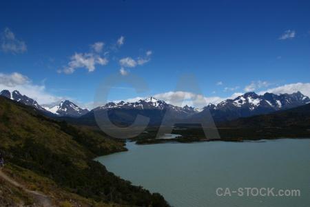 Landscape day 1 trek patagonia sky.