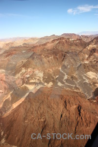Landscape desert mountain rock brown.