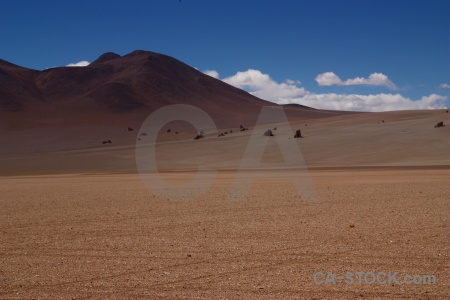 Landscape desert south america sky valle de dali.