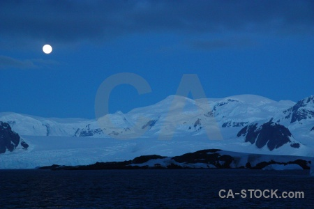Landscape ice day 8 antarctic peninsula argentine islands.