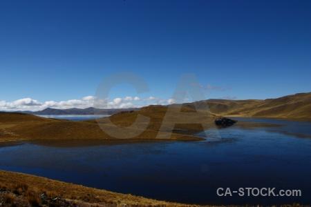 Landscape laguna lagunillas water south america altitude.