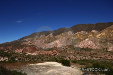 Landscape mountain altitude argentina south america.