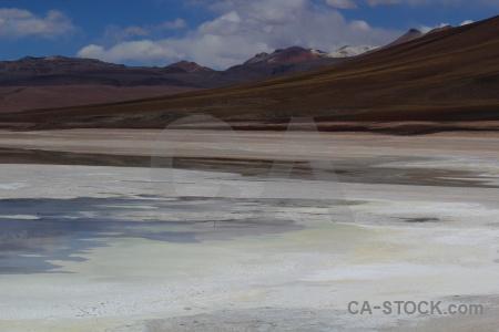 Landscape mountain bolivia laguna verde andes.