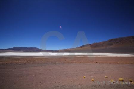 Landscape mountain salt flat altitude andes.