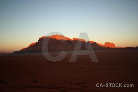 Landscape mountain sand western asia rock.