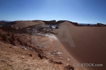 Landscape mountain valle de la luna atacama desert san pedro.