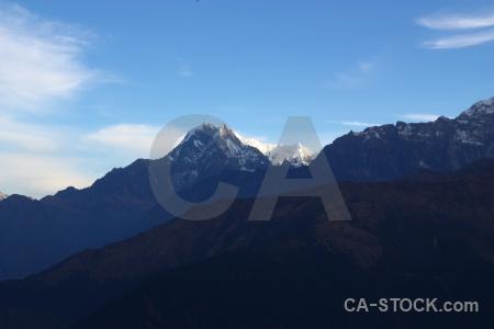 Landscape nepal sky cloud himalayan.