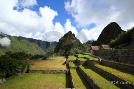 Landscape peru inca trail altitude.