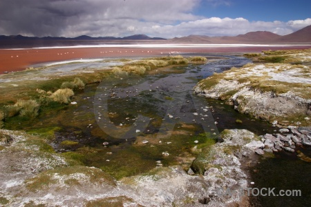 Landscape salt south america sky andes.