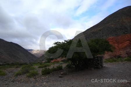 Landscape salta tour cerro de los siete colores rock mountain.