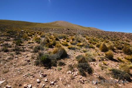 Landscape salta tour sky andes grass.