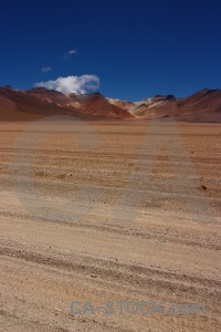 Landscape salvador dali desert mountain south america sky.