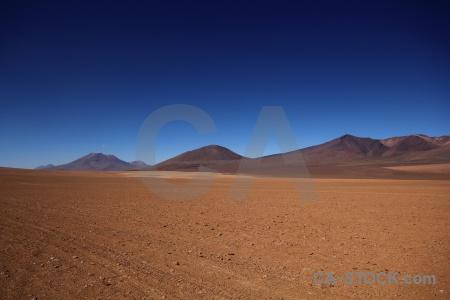 Landscape sand sky siloli desert mountain.