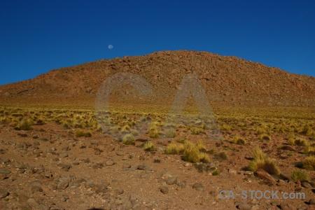 Landscape sky altitude bush bolivia.