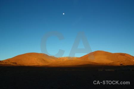 Landscape sky altitude moon bolivia.