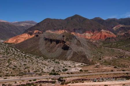 Landscape sky mountain quebrada de humahuaca tilcara.