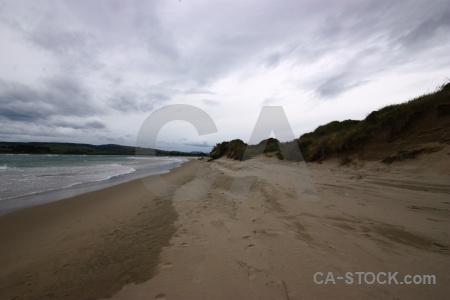 Landscape sky water owaka catlins.