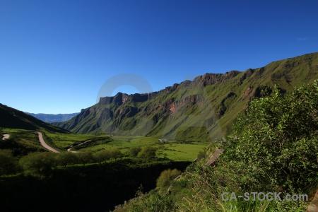 Landscape south america argentina cuesta del obispo valley.