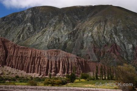 Landscape south america argentina sky andes.