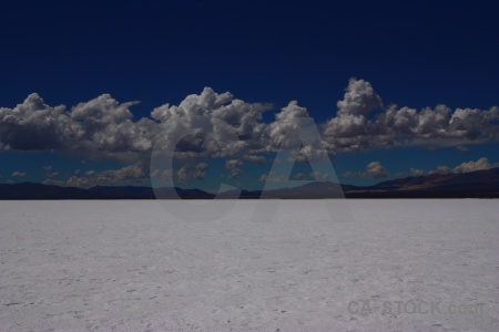 Landscape south america mountain salt flat sky.