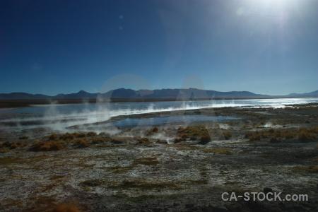 Landscape water altitude mountain south america.