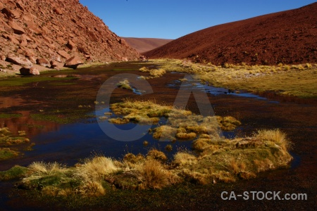 Landscape water altitude rock chile.