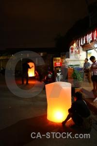 Lantern festival southeast asia person street.