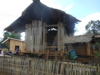 Laos phonsavan asia sky hut.