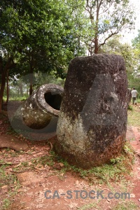 Laos rock site 2 phonsavan southeast asia.