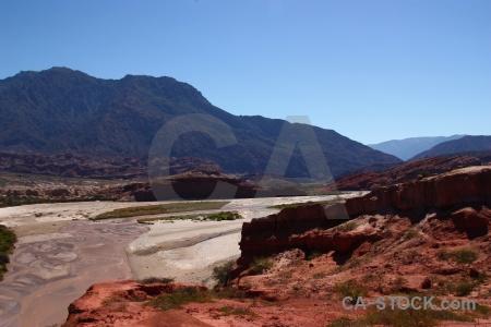 Las conchas river rio reconquista rock calchaqui valley quebrada de cafayate.