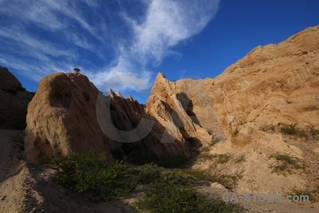 Las flechas gorge calchaqui valley argentina mountain rock.