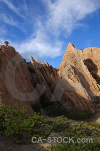 Las flechas gorge sky south america calchaqui valley quebrada de.