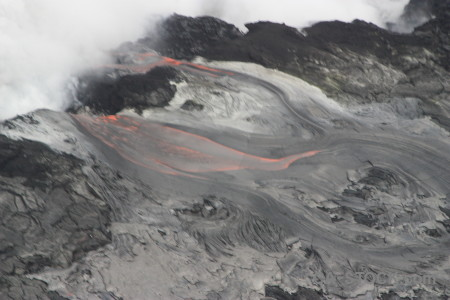 Lava gray volcanic.