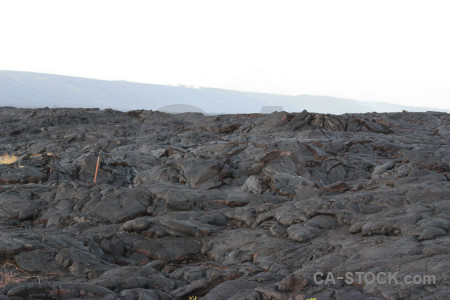 Lava white volcanic landscape.