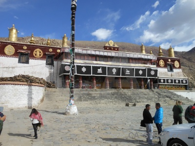 Lhasa buddhism asia step altitude.