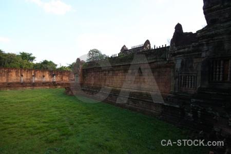 Lichen banteay samre temple ruin stone siem reap.