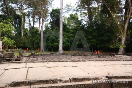 Lichen buddhist sky southeast asia cambodia.