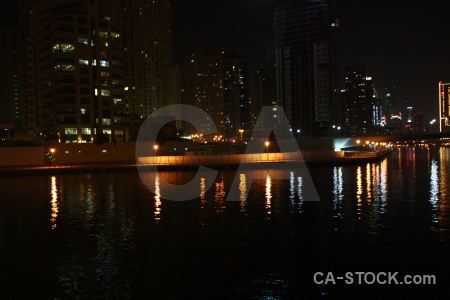 Light reflection uae night asia.