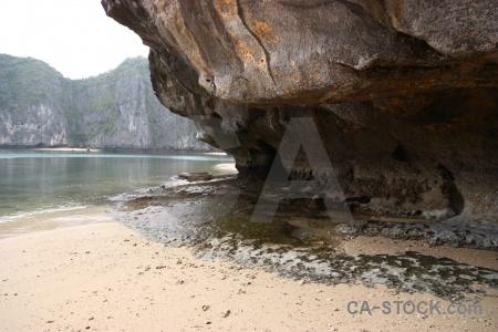 Limestone rock unesco ha long bay vietnam.