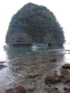Loh samah island cliff limestone ko phi leh.