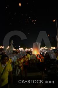 Loi krathong lantern southeast asia full moon festival bangkok.