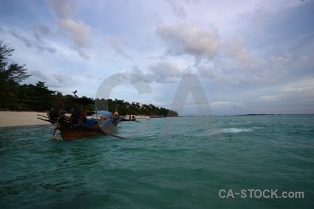 Long beach long tail vehicle phi island tropical.